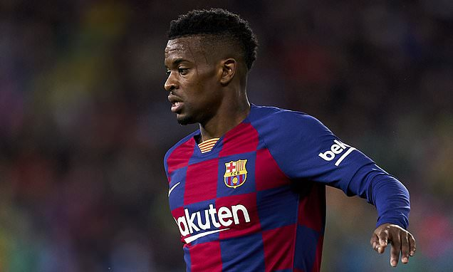 Man City boss Pep Guardiola eyes Barcelona defender Nelson Semedo