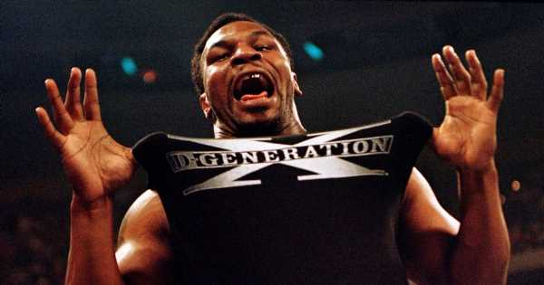Mike Tyson in wrestling return at AEW Double or Nothing