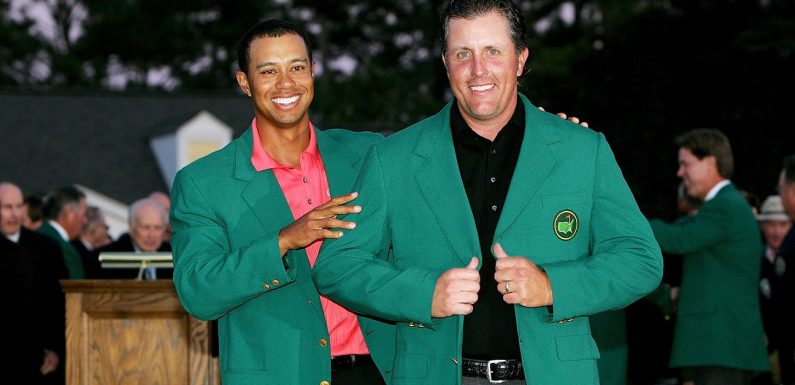From enemies to friends, how the Tiger-Phil relationship evolved