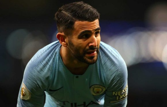 Riyad Mahrez: Luxury watches worth £300k stolen as Manchester City player's penthouse raided