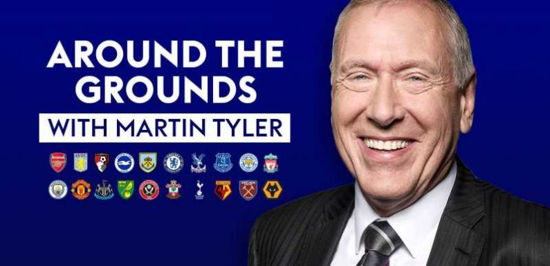 Stoke City: Martin Tyler shares his memories of commentating at the Bet365 Stadium