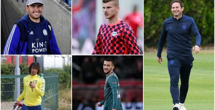 How Chelsea could line up with Hakim Ziyech, Timo Werner and two more signings