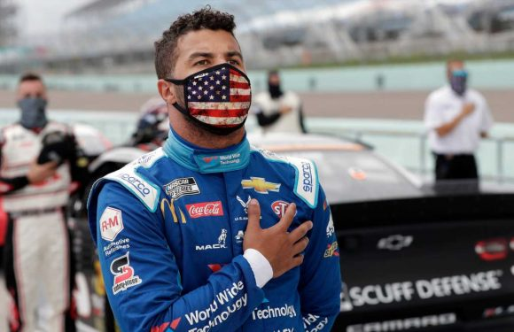 NASCAR driver Bubba Wallace reacts to FBI investigation: 'People are trying to test my character'