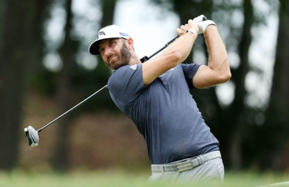 Golf: Red-hot Johnson surges into lead at Travelers