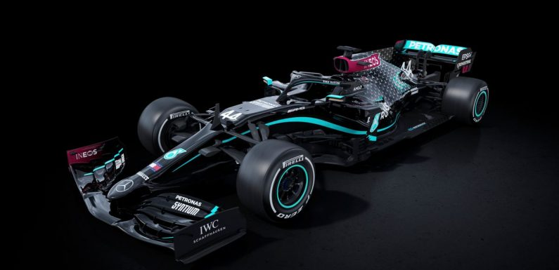 """Hamilton urges F1 to """"seize moment"""" in racism fight as Mercedes unveil new car"""