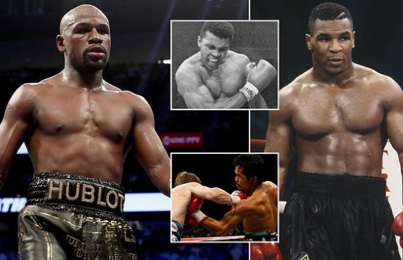 Mayweather tops list of best boxers but no place for Tyson in Top 10