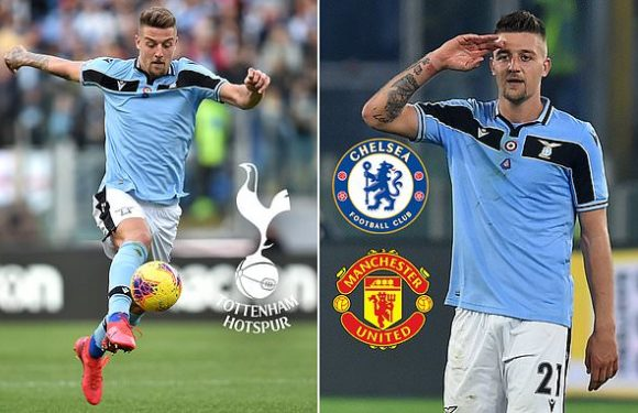 Lazio willing to listen to offers for Sergej Milinkovic-Savic