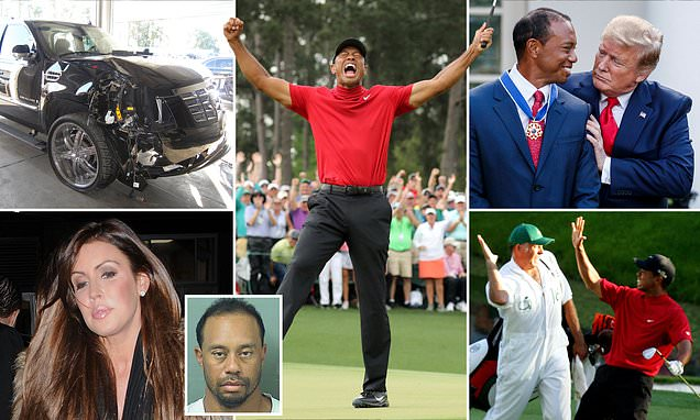 The turbulent past of Tiger Woods: Sex scandal, a DUI arrest and more