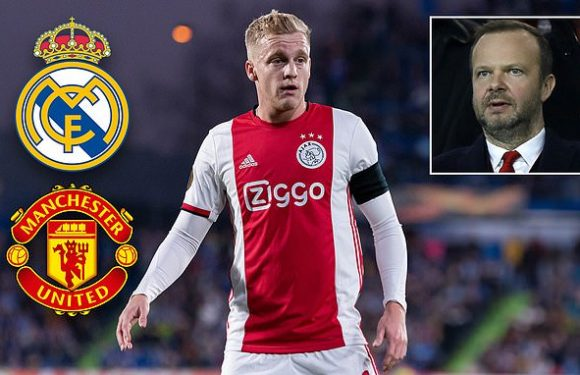 Man United 'look to hijack Real Madrid's £49m deal for van de Beek'