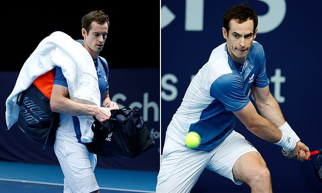 Andy Murray withdraws from Battle of Brits with 'shin issues'