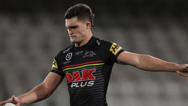 'JT-like' Cleary returns to Penrith training after facing infection