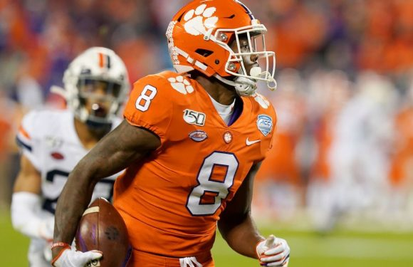 Clemson WR Ross out for '20 with spinal issue