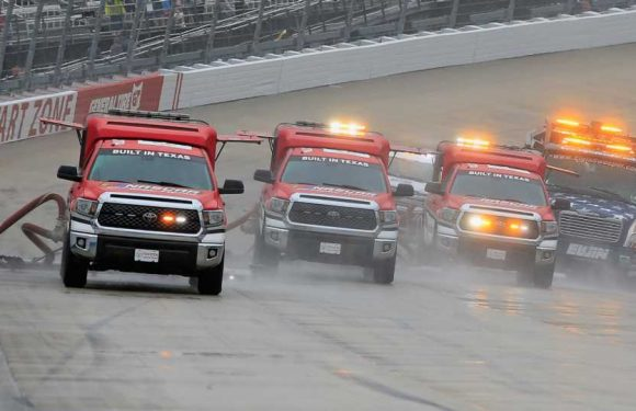 NASCAR race weather updates: How long will rain in forecast delay the Talladega race?