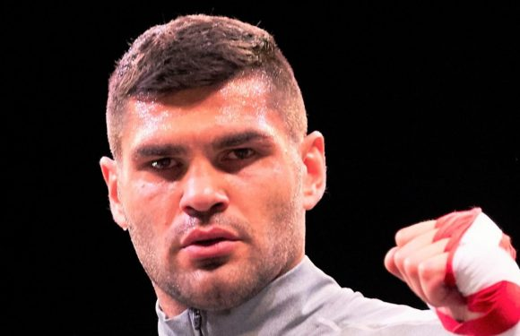 Anthony Joshua could be forced to face Filip Hrgovic in future if Croatian continues destructive rise