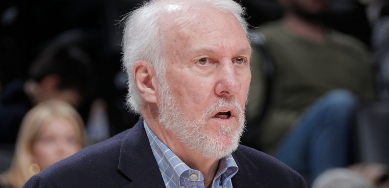 'Embarrassed' Gregg Popovich admits USA is 'in trouble' after George Floyd killing