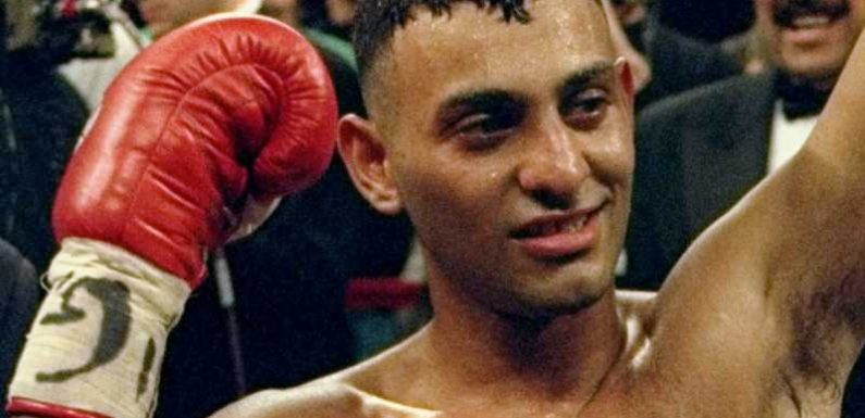 Prince Naseem Hamed's son Aadam to become a professional boxer