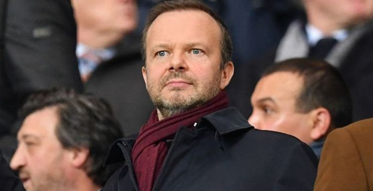 Man Utd chief Ed Woodward urged to complete £90m striker signing because of one player