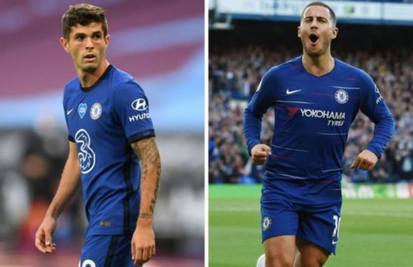 Chelsea boss Frank Lampard reveals how Christian Pulisic can emulate Eden Hazard
