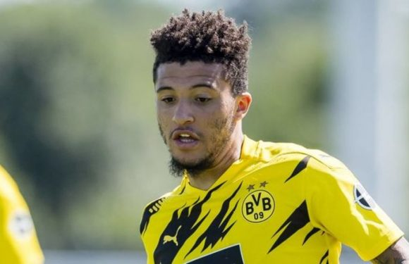 Man Utd owners the Glazers could make Jadon Sancho transfer decision due to one player