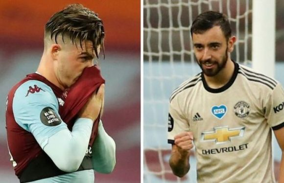 Man Utd transfer target Jack Grealish furious over Bruno Fernandes contradiction