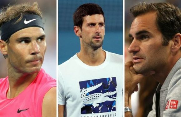 Roger Federer, Rafael Nadal and Novak Djokovic's 'closest' rival named by Stefan Edberg