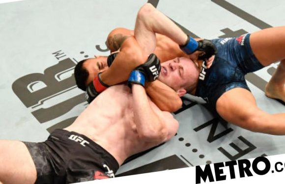 Watch incredible moment UFC star snubs celebration to help unconscious opponent