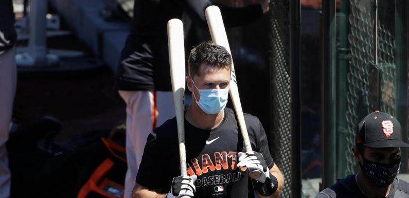 Buster Posey, Giants catcher, out in 2020 over COVID-19 concerns