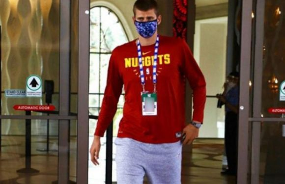Basketball: Jokic out of quarantine, watches Nuggets practise