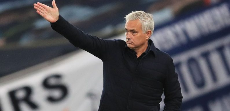 Mourinho claims Spurs would be in CL spots if he'd been boss all season