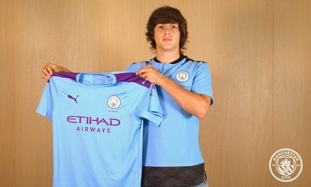 Man City confirm £9m arrival of striker Pablo Moreno from Juventus