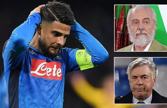 Lorenzo Insigne admits Napoli were wrong to have staged a rebellion