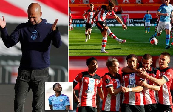 Southampton 1-0 Man City – Visitors suffer ninth Premier League defeat
