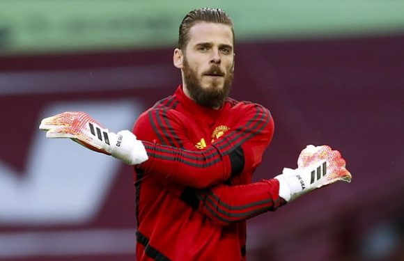 David de Gea in line to make 400th Man United appearance