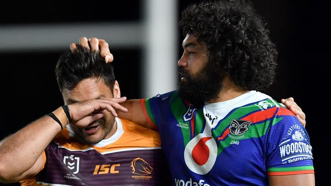 Broncos and Queensland greats have savaged Brisbane's NRL farce with a potential 'ironic' twist on the cards