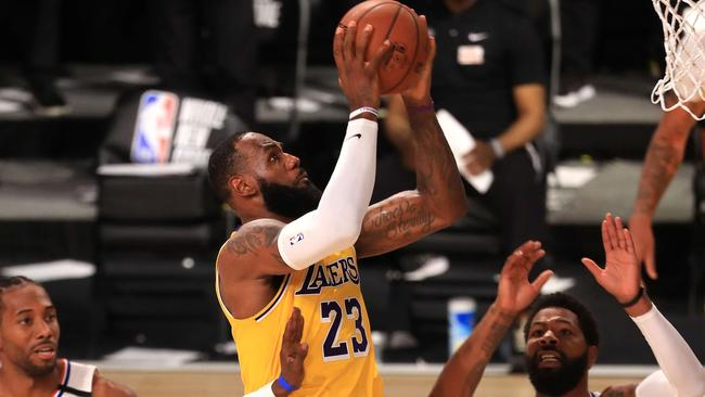 NBA 2020: LeBron James comes up clutch as Lakers beat Clippers