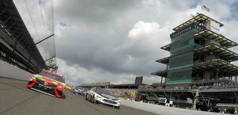 NASCAR at Indianapolis: Starting lineup, pole for Sunday's race without qualifying