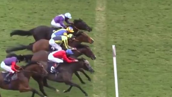 'What a race!': Wild finish at Doncaster stuns horse racing