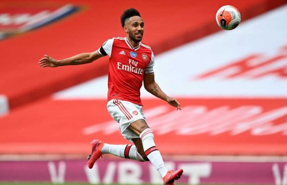 Mikel Arteta hopes Pierre-Emerick Aubameyang will continue his goal run with new Arsenal contract