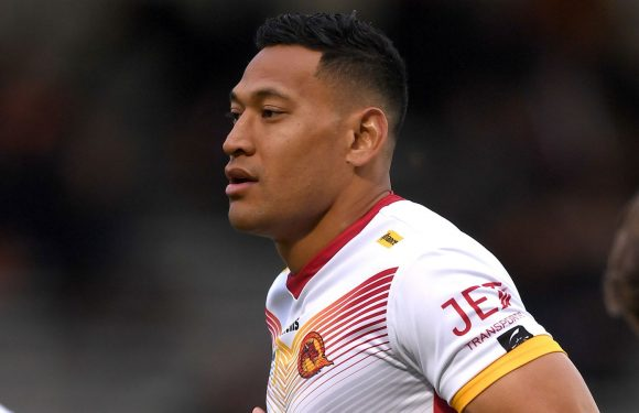 Israel Folau signs one-year Catalans Dragons contract extension