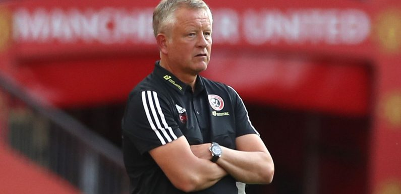 Chris Wilder: Individual errors hurting Sheffield United