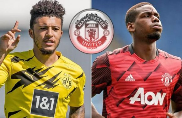 Man Utd target Jadon Sancho has already bonded with Paul Pogba and four future team-mates