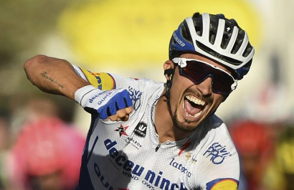 Alaphilippe claims the Tour de France yellow jersey with stage 2 win