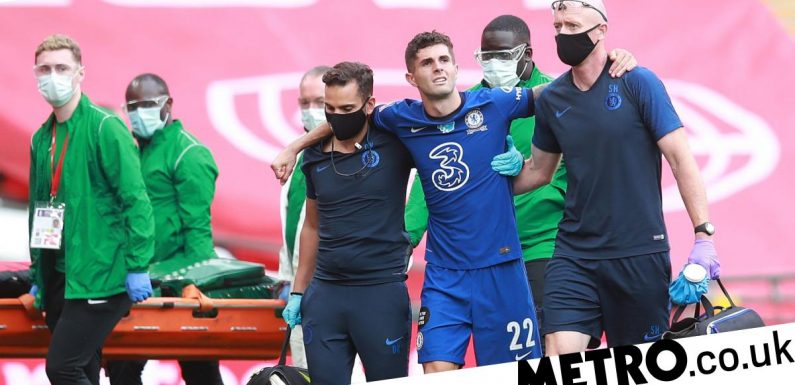 Christian Pulisic gives injury update as he speaks out on FA Cup final defeat