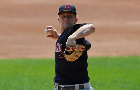 Reports: Cleveland Indians send pitcher Zach Plesac home for violating COVID-19 protocols