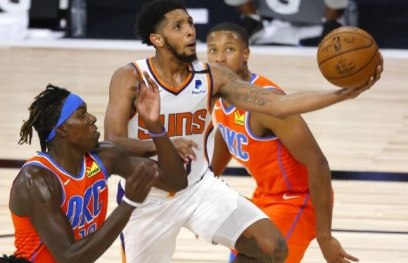 Basketball: Suns rout Thunder, stay perfect in the bubble