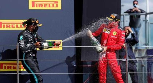 Mercedes' dominance turning F1 into a formality as they survive late tyre drama
