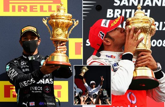 Hamilton is in SEVEN HEAVEN after latest British Grand Prixvictory