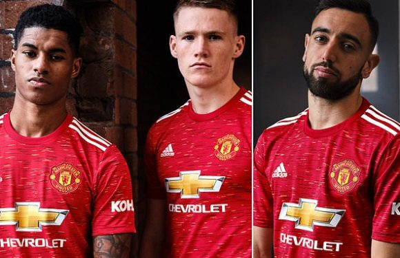 Manchester United unveil new home kit for the 2020-21 season