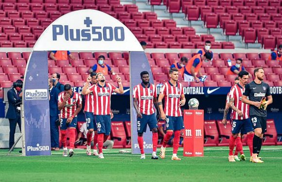 Two Atletico stars contract covid-19 ahead of Champions League tie