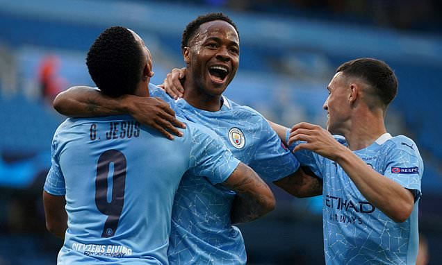 Raheem Sterling says Man City were extra hungry against Real Madrid